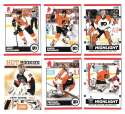2010-11 Score (1-550) Hockey Team Set - Philadelphia Flyers