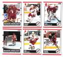2010-11 Score (1-550) Hockey Team Set - Phoenix Coyotes
