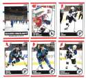 2010-11 Score (1-550) Hockey Team Set - St. Louis Blues