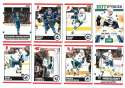 2010-11 Score (1-550) Hockey Team Set - Vancouver Canucks