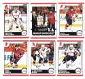 2010-11 Score (1-550) Hockey Team Set - Washington Capitals