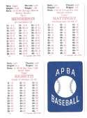 1988 APBA Season - NEW YORK YANKEES Team Set