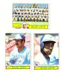 1979 Topps (overall VG+ Condition) - TORONTO BLUE JAYS Team Set