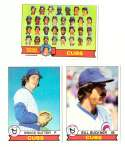 1979 Topps (overall VG+ Condition) - CHICAGO CUBS Team Set