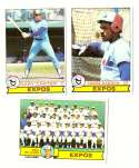 1979 Topps (overall VG+ Condition) - MONTREAL EXPOS Team set