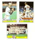 1979 Topps (overall VG+ Condition) - BALTIMORE ORIOLES Team Set