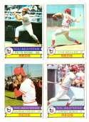 1979 Topps (overall VG+ Condition) - CINCINNATI REDS Team Set