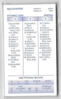 2008 Strat-O-Matic (SOM) Season - ARIZONA DIAMONDBACKS Team Set