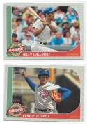 2017 Topps Heritage Baseball Flashbacks - CHICAGO CUBS