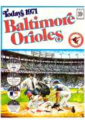 1971 Dell Today Stamps (Still in Albums) - BALTIMORE ORIOLES Team Set
