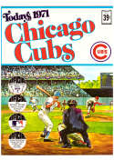 1971 Dell Today Stamps (Still in Albums) - CHICAGO CUBS Team Set