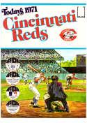 1971 Dell Today Stamps (Still in Albums) - CINCINNATI REDS Team Set