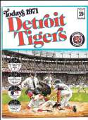 1971 Dell Today Stamps (Still in Albums) - DETROIT TIGERS Team Set