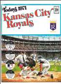 1971 Dell Today Stamps (Still in Albums) - KANSAS CITY ROYALS Team Set