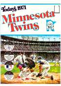 1971 Dell Today Stamps (Still in Albums) - MINNESOTA TWINS Team Set