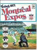 1971 Dell Today Stamps (Still in Albums) - MONTREAL EXPOS Team Set