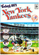 1971 Dell Today Stamps (Still in Albums) - NEW YORK YANKEES Team Set