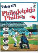 1971 Dell Today Stamps (Still in Albums) - PHILADELPHIA PHILLIES Team Set