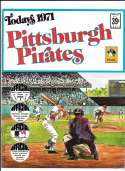 1971 Dell Today Stamps (Still in Albums) - PITTSBURGH PIRATES Team Set