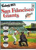 1971 Dell Today Stamps (Still in Albums) - SAN FRANCISCO GIANTS Team Set