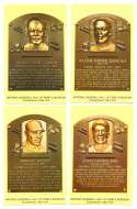 2005 Cooperstown Hall of Fame Plaque Postcards - NEGRO LEAGUE STARS -1