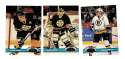 1991-92 Topps Stadium Club Hockey Team Set - Boston Bruins