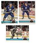 1991-92 Topps Stadium Club Hockey Team Set - Buffalo Sabres