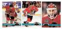 1991-92 Topps Stadium Club Hockey Team Set - Chicago Blackhawks