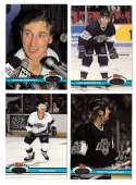 1991-92 Topps Stadium Club Hockey Team Set - Los Angeles Kings