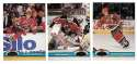 1991-92 Topps Stadium Club Hockey Team Set - New Jersey Devils