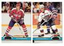 1991-92 Topps Stadium Club Hockey Team Set - Washington Capitals