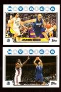 2008-09 Topps Basketball Team Set - Dallas Mavericks