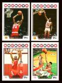 2008-09 Topps Basketball Team Set - Houston Rockets