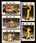 2008-09 Topps Basketball Team Set - Los Angeles Lakers
