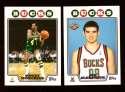 2008-09 Topps Basketball Team Set - Milwaukee Bucks