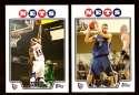 2008-09 Topps Basketball Team Set - New Jersey Nets