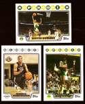 2008-09 Topps Basketball Team Set - Seattle Supersonics / Oklahoma City Thunder