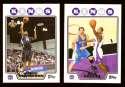 2008-09 Topps Basketball Team Set - Sacramento Kings