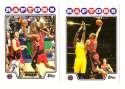 2008-09 Topps Basketball Team Set - Toronto Raptors
