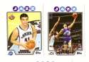2008-09 Topps Basketball Team Set - Utah Jazz