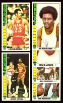 1976-77 Topps Basketball Team Set - Atlanta Hawks