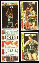 1976-77 Topps Basketball Team Set - Boston Celtics