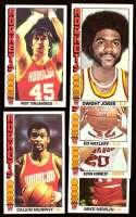 1976-77 Topps Basketball Team Set - Houston Rockets