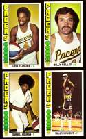 1976-77 Topps Basketball Team Set - Indiana Pacers