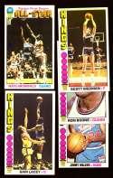 1976-77 Topps Basketball Team Set - Kansas City Kings Missing #20 Archibald