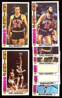 1976-77 Topps Basketball Team Set - New York Knicks