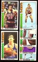 1976-77 Topps Basketball Team Set - Phoenix Suns