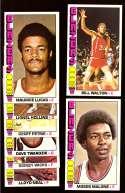 1976-77 Topps Basketball Team Set - Portland Trail Blazers