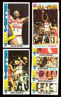 1976-77 Topps Basketball Team Set - Washington Bullets
