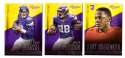 2014 Panini Prestige (1-300) Football Team Set - MINNESOTA VIKINGS